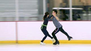 Ice Dancing Texas Teens Prepare For U.S. Figure Skating Championships