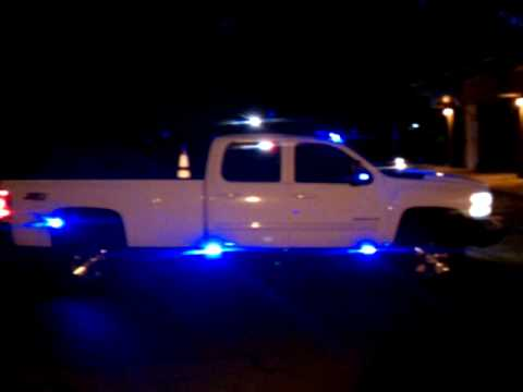 Unit 1 Lighting Emergency Demo Vehicle Silverado 3500hd
