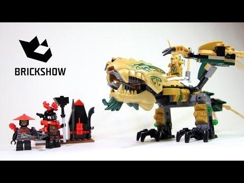 Lego Ninjago The Golden Dragon Instructions Lego 70503