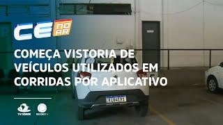 Começa vistoria de veículos utilizados em corridas por aplicativo