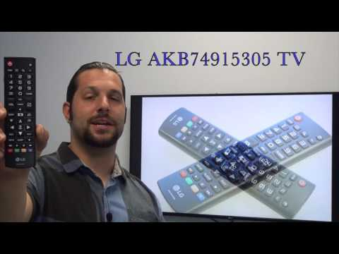 Substitute for LG AKB74915305 TV Remote Control