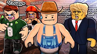 A Roblox game about how awful 2020 was lol