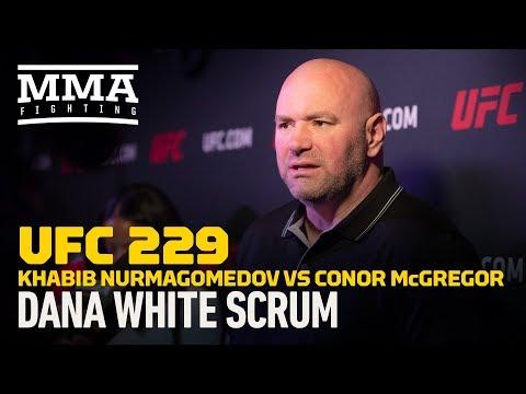 Najważniejsze Fakty wg Dany White przed UFC 229: Conor vs Khabib sprzeda 2,5 mln PPV
