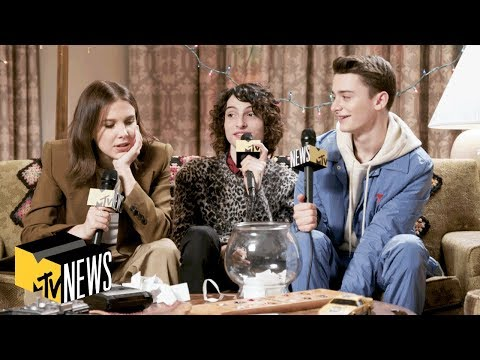 Millie Bobby Brown, Finn Wolfhard & Noah Schnapp Answer 'Stranger Things 3' Questions