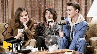 Millie Bobby Brown, Finn Wolfhard & Noah Schnapp Answer 'Stranger Things 3' Questions
