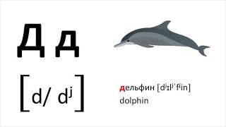 Learn the Russian alphabet with examples and pronunciation / Cyrillic alphabet
