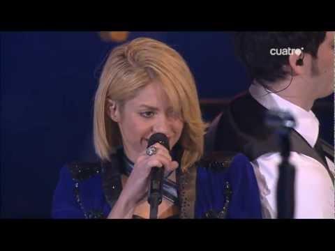 Shakira - Devoción & Loca - Premios Los 40 Principales 2011 HQ