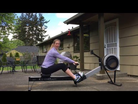 How to use the rowing machine back pain free