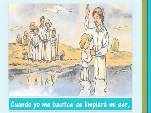 Cuando me bautice KARAOKE