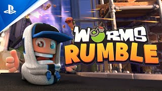 Worms Rumble - PlayStation Plus Reveal Trailer | PS5, PS4