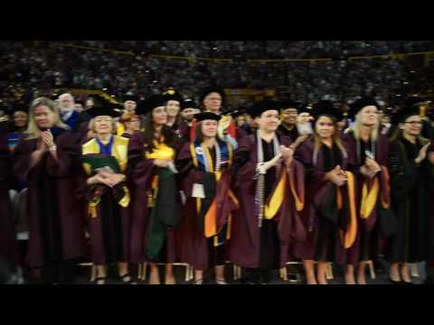 Arizona State University Graduate Commencement - Spring 2016