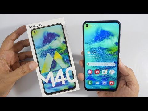 video Samsung Galaxy A40