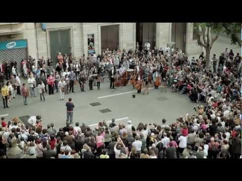 Flashmob kao reklama - BANCO SABADELL