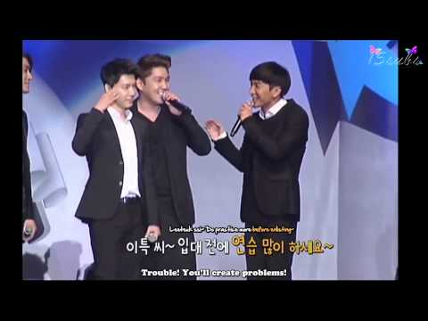 [ENG SUB] 121022 MNET WIDE News - Super Juniors 7th Anniversary Party [15SUBS]