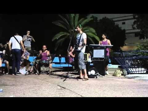 NOIZE MC - KikarParty on Dizengoff (Tel Aviv) Iz Okna