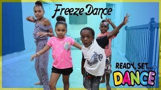 Freeze Dance Challenge Vs Pierre Sister & Panton Kids