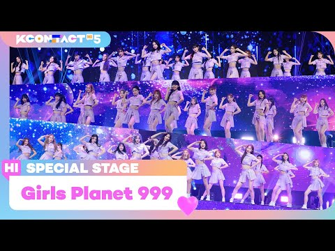 [KCON:TACT HI 5] Girls Planet 999 (걸스플래닛 999) 54인 -  Intro + O.O.OㅣSpecial Stage | Mnet 211021 방송