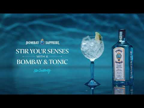 BOMBAY SAPPHIRE® Gin BE BRILLIANT AND INSPIRED. DRINK RESPONSIBLY!