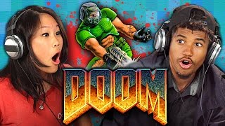 DOOM (1993 ORIGINAL GAME) (Teens React: Retro Gaming)