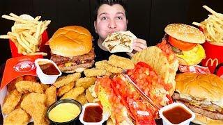 Wendy's, Taco Bell, McDonald's • MUKBANG