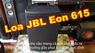 Loa JBL Eon 615 liền công suất di chuyển ngoài trời chuyên nghiệp chính hãng Mexico