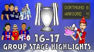 🏆UCL GROUP STAGE HIGHLIGHTS🏆 2016/2017 UEFA Champions League Best Games and Top Goals