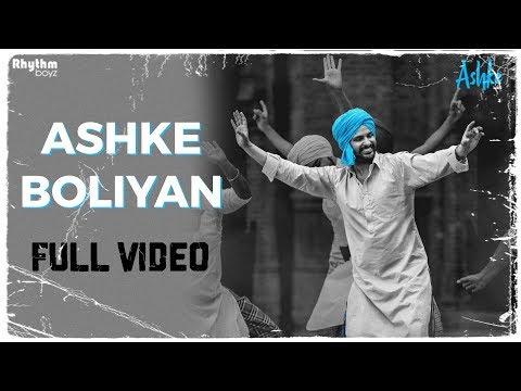 Ashke Boliyan - Full Video - Gurshabad - Raj Ranjodh - Jatinder Shah