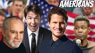 Comedians on AMERICANS (Part 1/2)