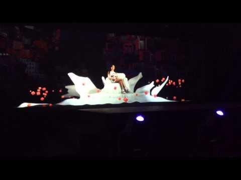 2NE1 Hologram Concert - Fire (2013 London KBEE)