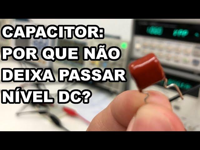 ENTENDA O CAPACITOR NA ENTRADA DO AMPLIFICADOR!