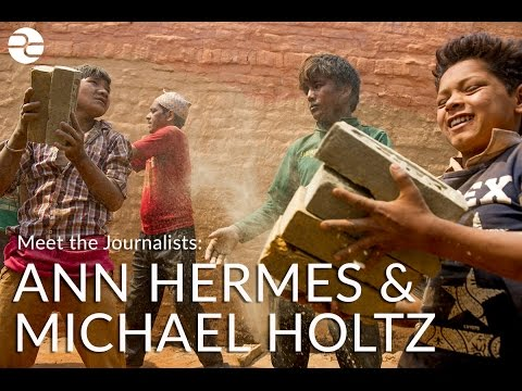 Meet the Journalists: Ann Hermes and Michael Holtz