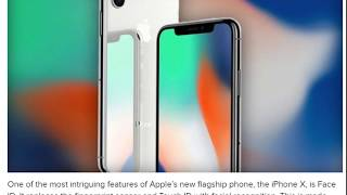How Apple's iPhone X TrueDepth Camera Works