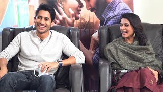 Naga Chaitanya & Samantha Interview With Mahathalli- P..