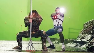 AQUAMAN Character 'Justice League' Behind The Scenes [+Subtitles]