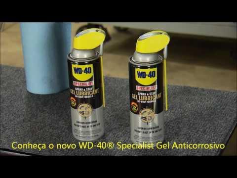 Gel Anticorrosivo Specialist Aerossol 360Ml Wd-40 - Vídeo explicativo