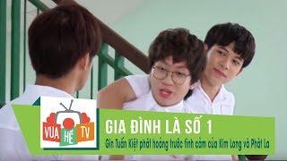 Gia đình là số 1 | Gin Tuấn Kiệt phát hoảng trước tình cảm mặn nồng của Kim Long và Phát La (p3)