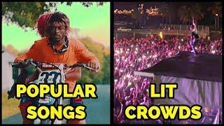 POPULAR SONGS VS LIT CROWDS PART 3