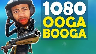1080 OOGA BOOGA! | GRAPPLING HOOK PLAYS | HIGH KILL FUNNY GAME- (Fortnite Battle Royale)