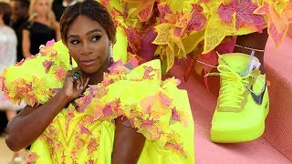 Met Gala 2019: Serena Williams Sports Gown and Neon Nikes