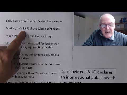 Coronavirus is now an international public health emergency.
