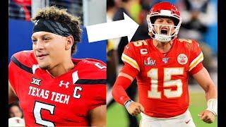 NFL Stars First College Touchdown Vs Their First NFL Touchdown    HD