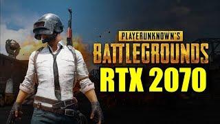 PlayerUnknown's Battlegrounds RTX 2070 OC   1080p - 1440p   FRAME-RATE TEST
