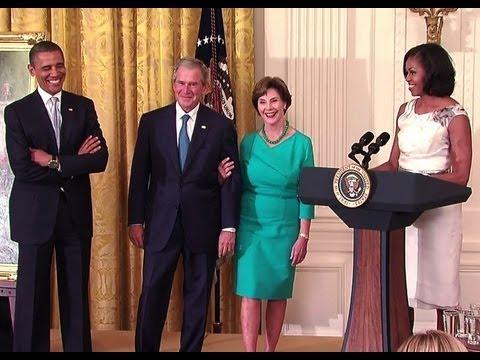 Unveiling the Official President Bush Portrait