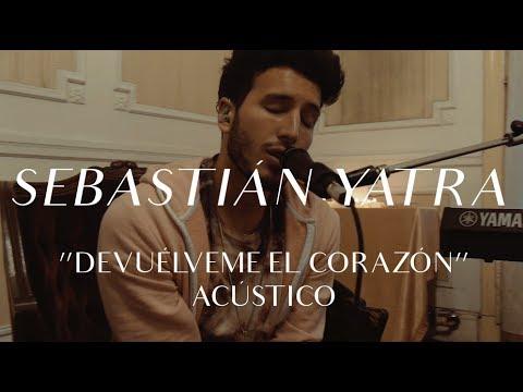 Sebastián Yatra - Devuélveme El Corazón (CMTV Acústico)