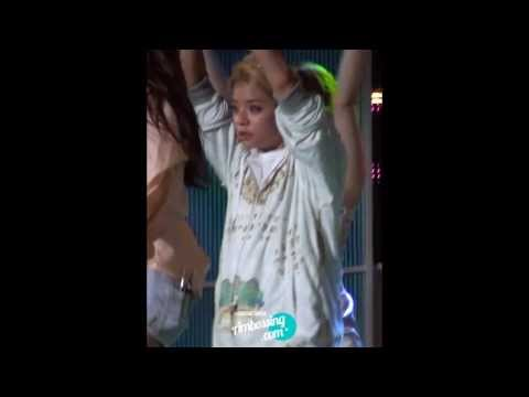 130812 속초 쇼챔피언 첫사랑니 엠버 직캠