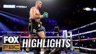 Tyson Fury defeats Deontay Wilder for WBC Heavyweight Championship | HIGHLIGHTS | PBC ON FOX