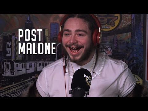 Post Malone Talks Trolling The World with Bieber, how he met Kanye West & his New Album