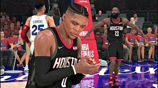 NBA 2K20 Gameplay - Houston Rockets vs Philadelphia 76ers Game 7 NBA Finals – NBA 2K20 PS4