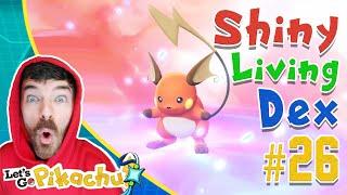 BULBASAUR SHINY HUNTING! Pokemon Let's GO Shiny Living Dex #01