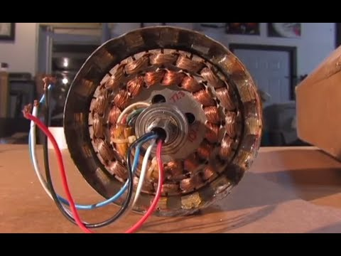 Ceiling Fan Generator Alternator Diy Youtube